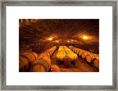 Domaine Pinquier-burgundy France Framed Print by John Galbo