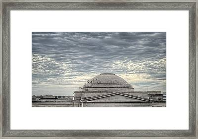 Dome Workers Framed Print by Jim Pearson