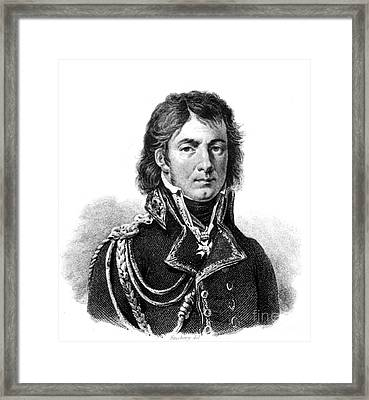Dominique Jean Larrey, French Surgeon Framed Print by Science Source