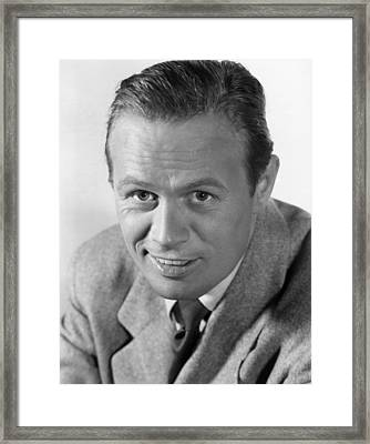 Dont Bother To Knock, Richard Widmark Framed Print by Everett