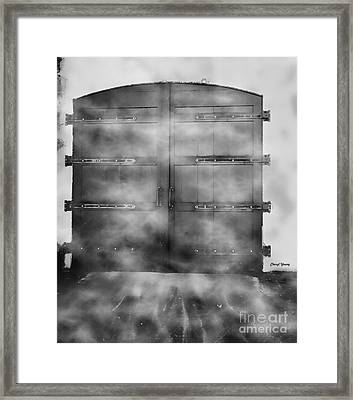 Door 3 Framed Print by Cheryl Young