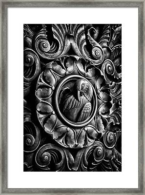 Door Detail 2 Framed Print by Val Black Russian Tourchin