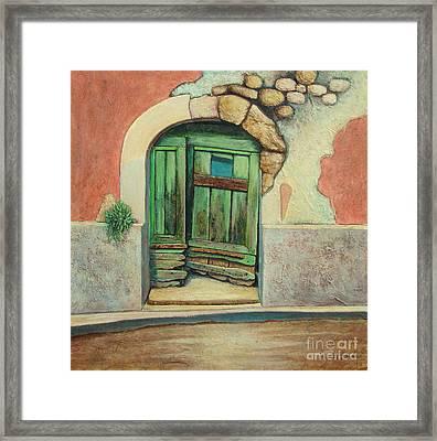 Door II Framed Print by Pamela Iris Harden