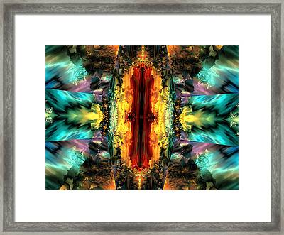 Door Of Destiny Framed Print by Claude McCoy