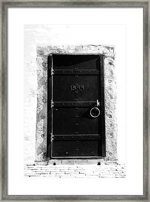 Door To Cape Florida Framed Print by David Lee Thompson