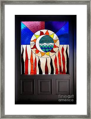 Doorway Of Choice Framed Print by Al Bourassa