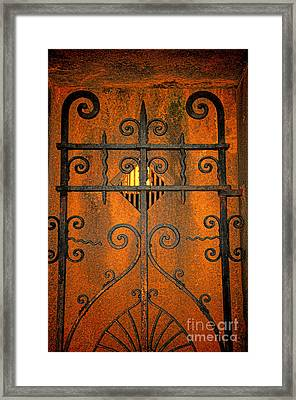 Doorway To Death Framed Print by Paul Ward