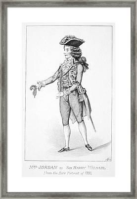 Dorothy Bland Jordan Framed Print by Granger