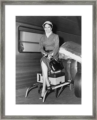 Dorothy Dandridge 1922-1965 Framed Print by Everett