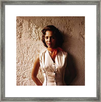 Dorothy Dandridge, 1957, Island In The Framed Print by Everett