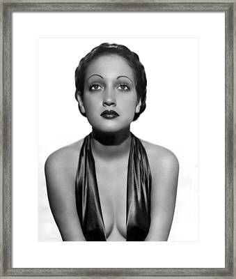 Dorothy Lamour As A C.b.s. Radio Framed Print by Everett