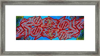 Double Trouble Framed Print by Randall Weidner