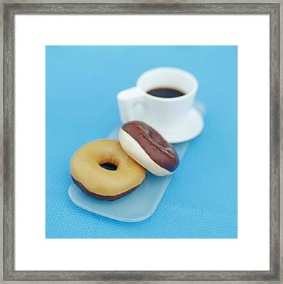 Doughnuts Framed Print by David Munns