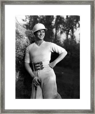 Douglas Fairbanks, Jr., 1930 Framed Print by Everett