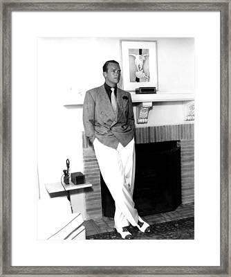 Douglas Fairbanks, Jr., Ca. 1940s Framed Print by Everett