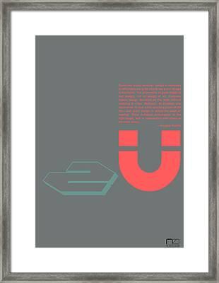 Douglas Martin Poster Framed Print by Naxart Studio