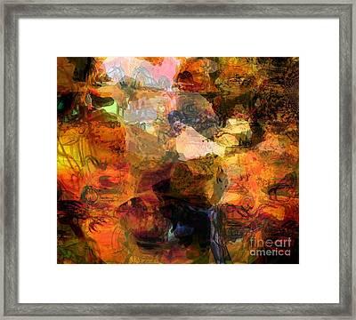 Down To Earth Framed Print by Fania Simon
