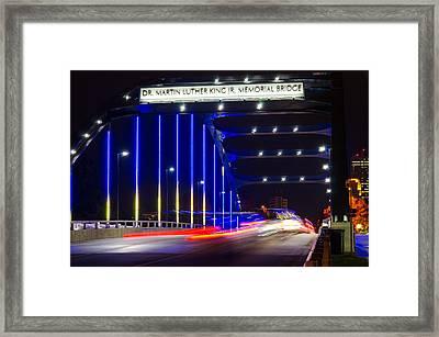 Downtown I Go Framed Print by Mauricio Fernandez