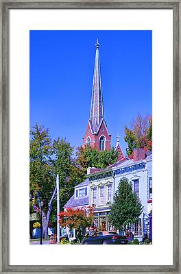 Downtown Madison II Framed Print by Steven Ainsworth