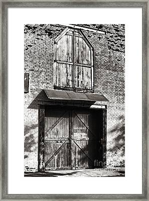 Downtown Northampton - Don Gleason's Framed Print by HD Connelly
