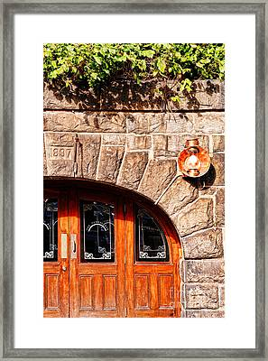 Downtown Northampton - Tunnel Bar Framed Print by HD Connelly