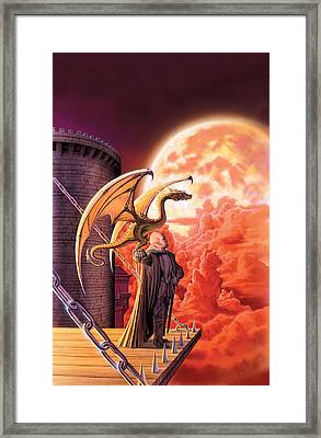 Dragon Lord Framed Print by The Dragon Chronicles - Robin Ko