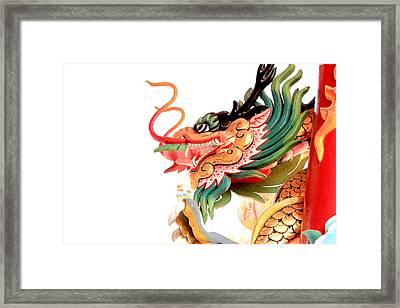 Dragon Framed Print by Panyanon Hankhampa