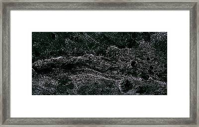 Dragon Square - Mars II Framed Print by Freyk John Geeris