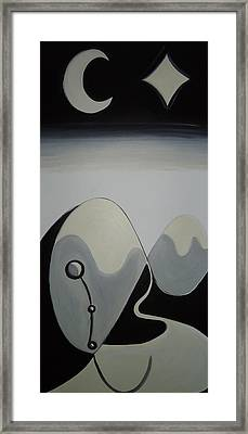 Dream - A Condition Or Achievement That Is Longed For. Framed Print by Cory Green