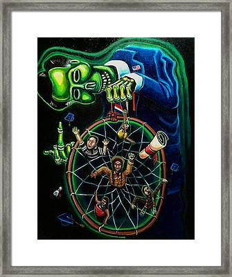 Dream Catcher Framed Print by Mario Chacon