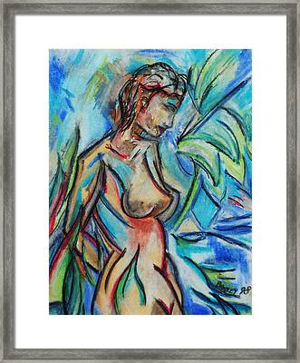 Dream Girl 98 Framed Print by Bradley Bishko
