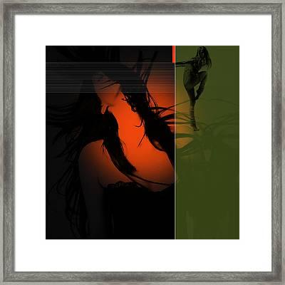 Dream Framed Print by Naxart Studio