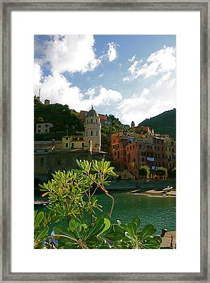 Dream Of Vernazza Framed Print by  K Scott Williamson