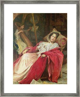 Dreams Framed Print by Stefani Melton Fisher