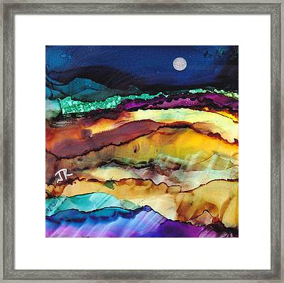 Dreamscape No. 173 Framed Print by June Rollins