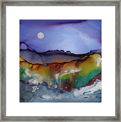 Dreamscape No. 85 Framed Print by June Rollins