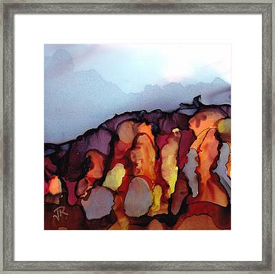 Dreamscape No. 86 Framed Print by June Rollins