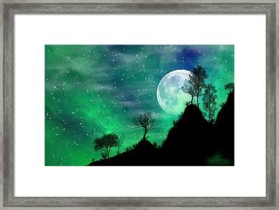 Dreamy Night Framed Print by Anthony Citro
