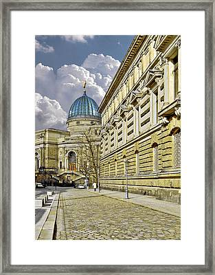 Dresden Academy Of Fine Arts Framed Print by Christine Till