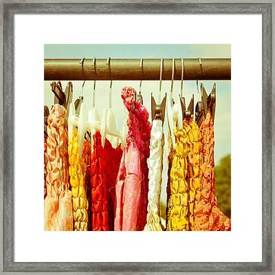 Dresses Framed Print by Tom Gowanlock