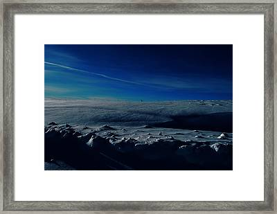 Drifts Of Time Framed Print by JC Photography and Art