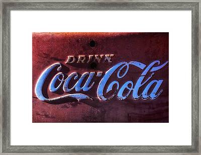 Drink Coca Cola Framed Print by Garry Gay