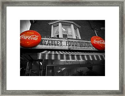 Drink Coca Cola Framed Print by Kamil Swiatek