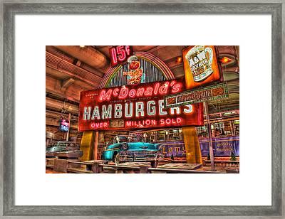 Driving America Dearborn Mi Framed Print by Nicholas  Grunas