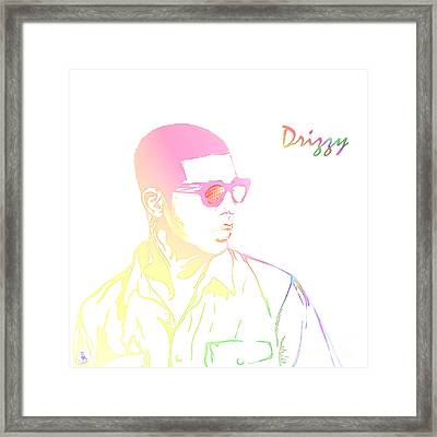Drizzy  Framed Print by The DigArtisT