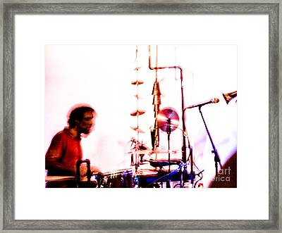 Droid - Drums Amir Ziv Framed Print by Jim DeLillo