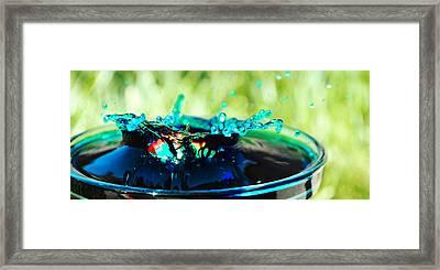 Drunken  Framed Print by Sydney  Zmitrewicz