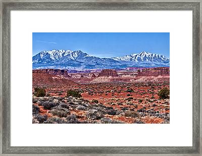 Duality Of Desolation Framed Print by Scotts Scapes