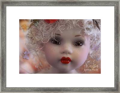 Dulce My Sweety Framed Print by Rosa Cobos