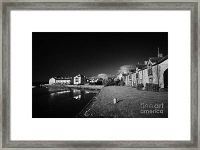 Dundrum Bay Shoreline Quay County Down Northern Ireland Framed Print by Joe Fox